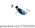 soccer, boy, ball 47603094