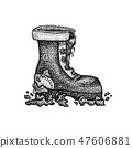 Dotwork Dirty Boot 47606881