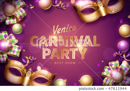 Venice Carnival party 47611944