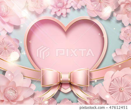 Valentine's day card template 47612451
