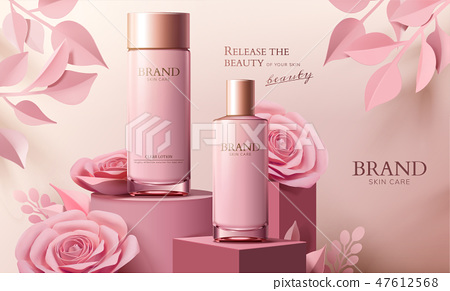 Skincare spray bottle ads 47612568