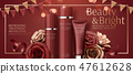 Attractive cosmetic banner ads 47612628