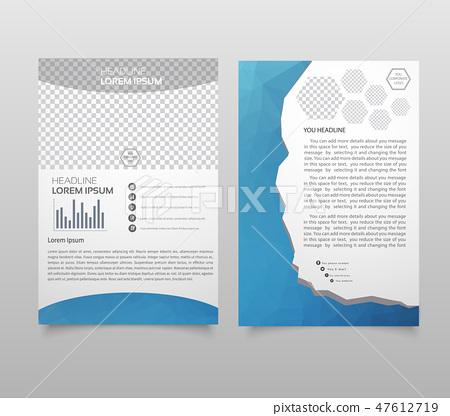 Presentation layout design template. 47612719