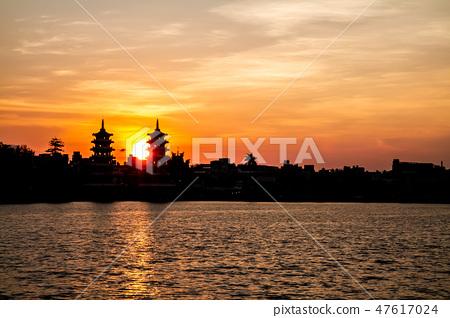 대만 대만 가오슝 Zuoying Lotus 연못 호수 아시아 대만 Kaohsiung Lake 47617024