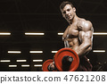 barbell, bodybuilder, fitness 47621208