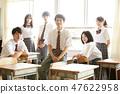 고교생 학교 생활 쉬는 시간 47622958