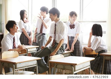High school student school life time off 47622969