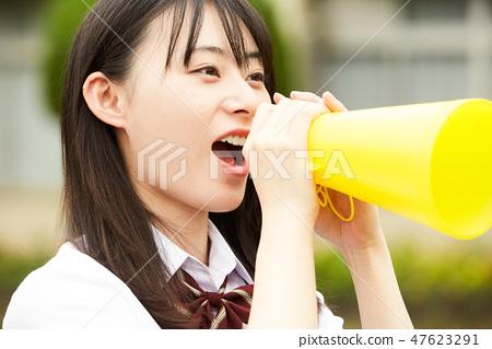 高中學生學校生活俱樂部活動 47623291