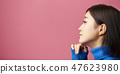 思维女人的肖像 47623980