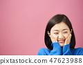 漂亮女性肖像 47623988