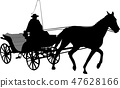 vintage carriage silhouette 2 47628166