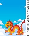 dragon, Chinese, sky 47628642