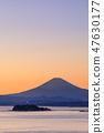 Shonan Enoshima _ Fuji sunset view 47630177