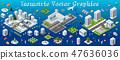 Isometric set module city 47636036