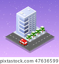 Christmas city isometric 47636599