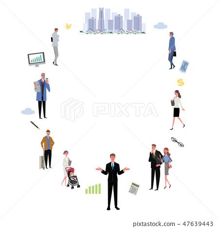 鎮和人企業概念被說明的框架 47639443