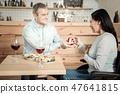 meal, restaurant, couple 47641815