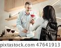 meeting, woman, couple 47641913