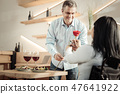 meeting, woman, couple 47641922