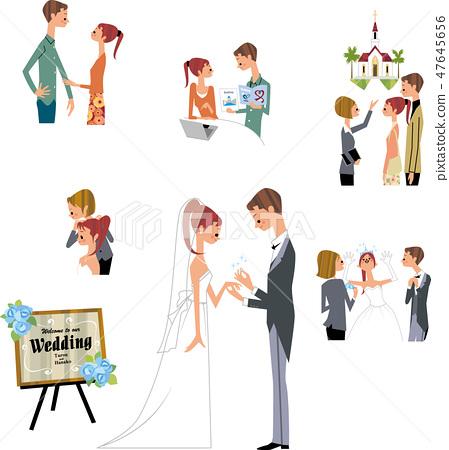 결혼식 여러가지 47645656