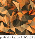 golden polygonal background 47650033