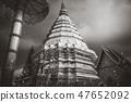 Wat Doi Suthep golden stupa, Chiang Mai, Thailand 47652092