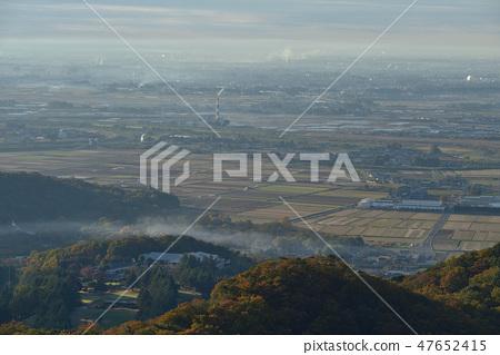 대 오야마 정상에서 남쪽으로 펼쳐지는 관동 평야를 본다 47652415