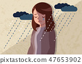 woman with depressed problem 47653902