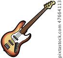 베이스 기타 47664113