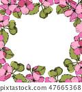 vector blossom pink 47665368