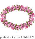 vector blossom pink 47665371