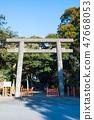 Toru Shrine Torii神社2鳥居(茨城縣神棲市)自2019年1月起 47668053