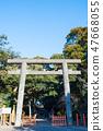 Toru Shrine Torii神社2鳥居(茨城縣神棲市)自2019年1月起 47668055