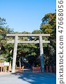 Toru Shrine Torii神社2鳥居(茨城縣神棲市)自2019年1月起 47668056