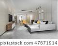 餐厅 室内装饰 客厅 47671914