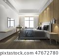 床 床鋪 臥室 47672780