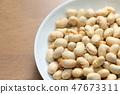 福豆 · 볶은 콩. 47673311