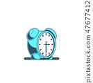时间 钟表 时钟 47677412