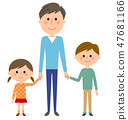 Sibling with my dad 47681166