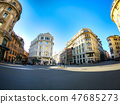 The Beautiful Intersection in Rome 47685273