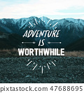 Travel inspirational quotes. 47688695