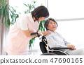 Nursing Care Image Senior Women and Caregivers 47690165