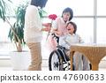 Nursing Care Image Senior Women and Caregivers 47690633