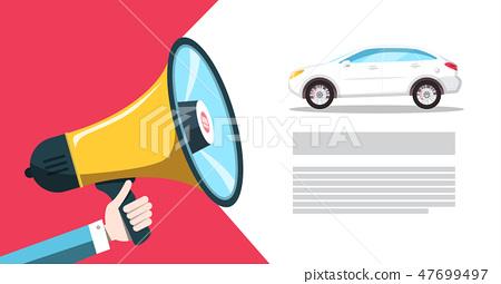 Car Dealer - Seller Announcement 47699497