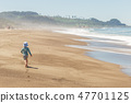 boy, run, beach 47701125