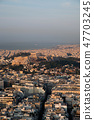 cityscape of Athens in early morning  47703245
