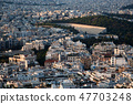 cityscape of Athens in early morning  47703248