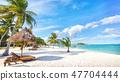 Asian tropical beach paradise in Thailand 47704444