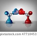 China USA Trade Fight 47710453