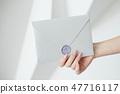 card,hand,envelope 47716117